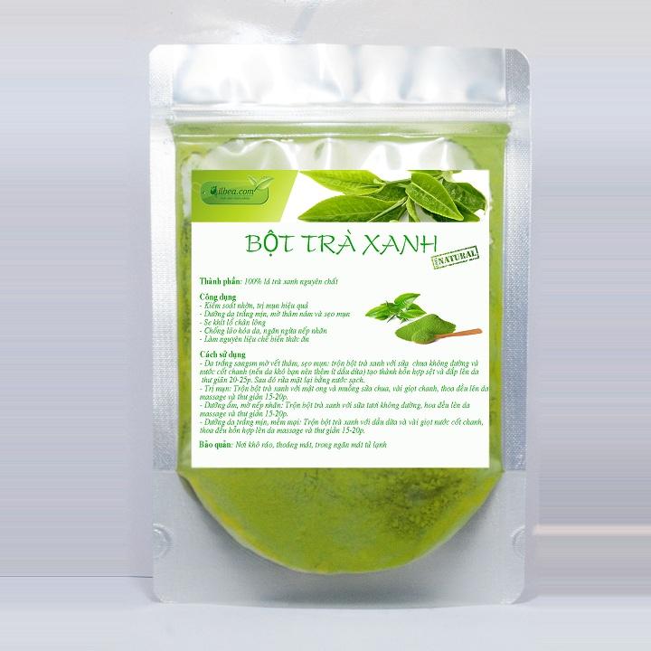 Bột trà xanh Thái Nguyên 100gr