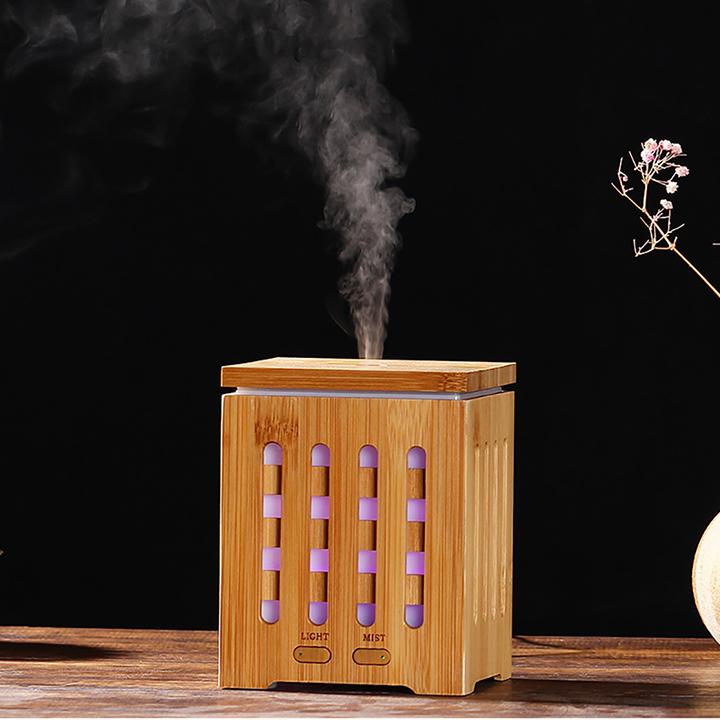 Máy khuếch tán phun sương tinh dầu gỗ tre