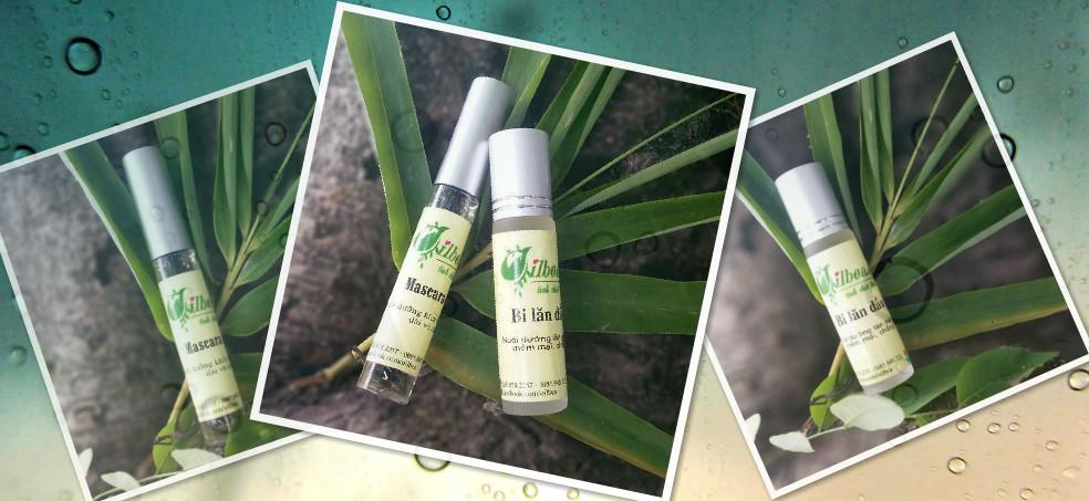 Combo son môi dưỡng ẩm, mascara tinh dầu dừa chỉ với 60.000đ